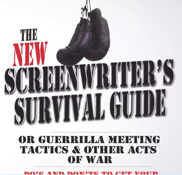 The New Screenwriter's Survival Guide by author and screenwriter Max Adams